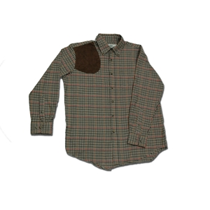 Boyt District Check Shirt with Suede pad