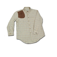 Boyt Window Pane Shirt with Suede pad