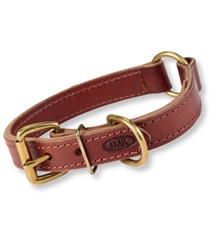 Mud River The High Prairie Leather Collar With Safety O-Ring