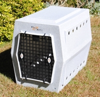 Ruff Tough Large Double-Door Dog Crate
