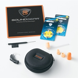 SoundGear Behind-The-Ear Electronic Hearing Protection -- 2 Volume Levels