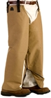 TurtleSkin® SnakeArmor Below-the-Knee Protection - WWM-SNAKECHAP-Khaki-SHORT-REGULARBUILD