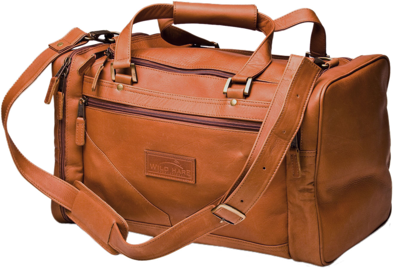wild hare leather duffle bag wh500ldk