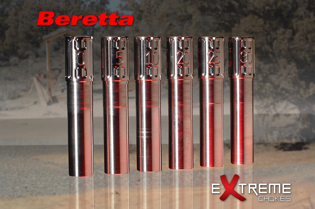 Extreme Chokes 12 Gauge Beretta Optima Titanium Choke Tubes