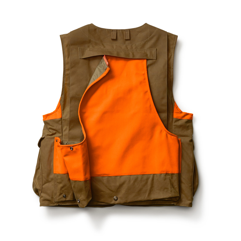 2c85987c31801 ... Filson Tin Cloth Upland Hunting Vest Frontloader - FIL-10375-BT-S ...
