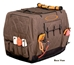 Mud River Dixie Insulated Kennel Cover Brown - MDR-MRM1414