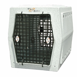 Ruff Tough Intermediate Double-Door Dog Crate