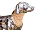TurtleSkin® SnakeArmor Dog Neck Protection - WWM-DOGNECKPRO-SMALL-Khaki
