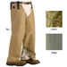 TurtleSkin® SnakeArmor Total Protection Chaps - WWM-TOTALCHAP-Khaki-SHORT-REGULARBUILD