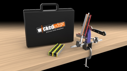 Wicked Edge Field & Sport Sharpener - WE200 wicked edge, knife, sharpener, sharpening system, kit, made in USA