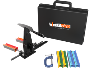 Wicked Edge WE130 Portable wicked edge, knife, sharpener, sharpening system, kit, made in USA