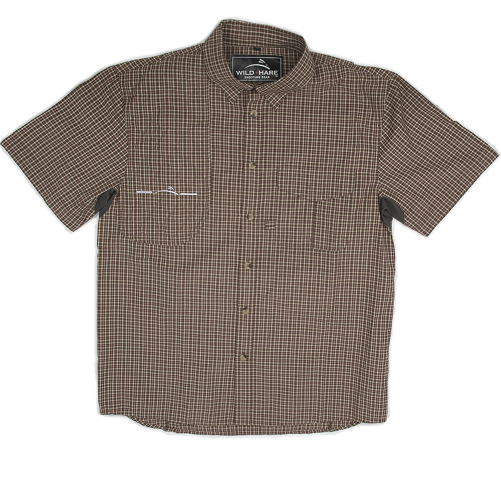 6f2e40be13650 Wild Hare Button Up Short Sleeve Shooting Shirt - WH-601SS-PD1-RH ...