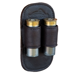 Wild Hare Leather Spare Shell Holder spare shell holder, belt clip, 12 gauge, 12ga, shotshell holder